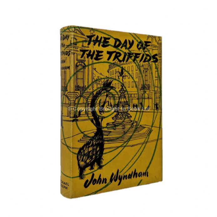 The Day of the Triffids Signed by John Wyndham First Edition Michael Joseph 1951